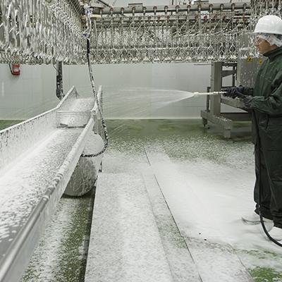 El papel de la espuma en detergencia