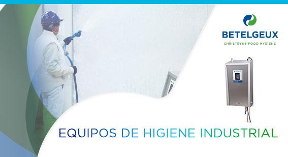 EQUIPOS DE HIGIENE INDUSTRIAL