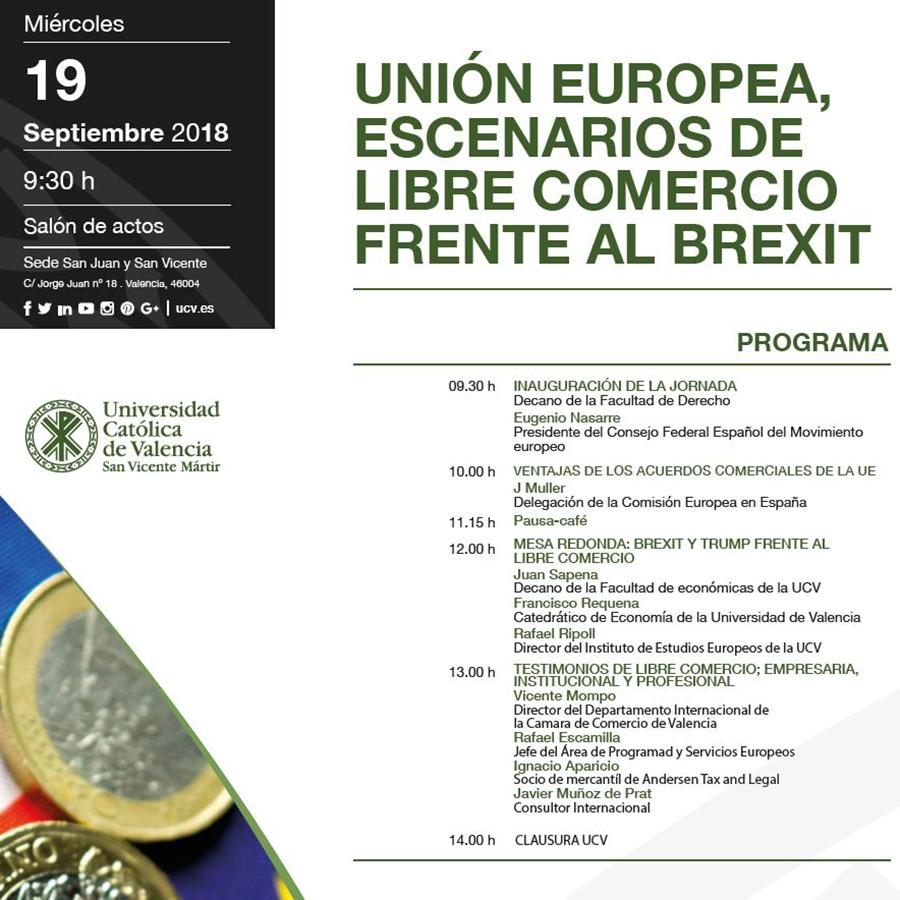 Cátedra BETELGEUX: Escenarios de libre comercio frente al Brexit