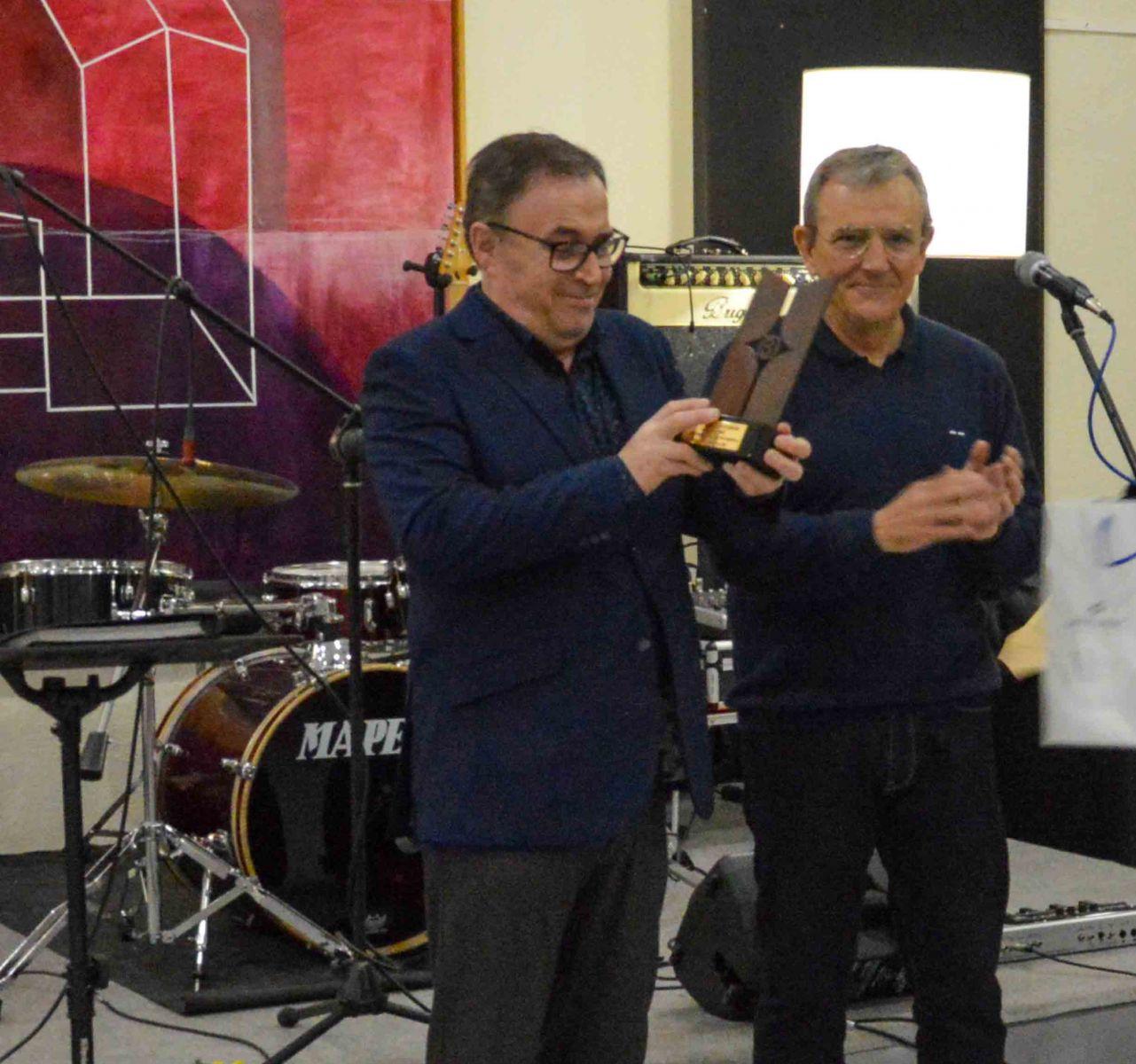 BETELGEUX-CHRISTEYNS homenajea a Enrique Orihuel por su jubilación