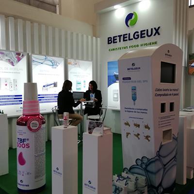 BETELGEUX-CHRISTEYNS presenta su Servicio de Higiene Integral en Conxemar 2021