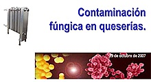 Contaminación fúngica en queserias