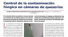 Control de la contaminación fúngica en cámaras de queserías