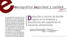 Detección y control de puntos negros en la limpieza y desinfección de superficies en industrias alimentarias