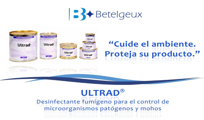 ULTRAD: desinfectante fumígeno para el control de microorganismos patógenos y mohos