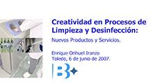 Creatividad en procesos de limpieza y desinfección: nuevos productos y servicios