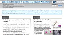 Poster Productos de alto rendimiento para la eliminación de biofilms