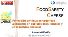 Presentación del proyecto Food Safety Cheese