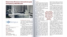 Soluciones eficaces e innovadoras para la limpieza y desinfección