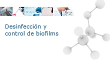Disinfection and control of biofilms