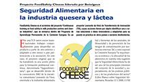 Seguridad Alimentaria en la industria quesera y láctea