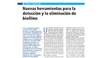 Nuevas herramientas para la detección y la eliminación de biofilms