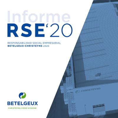 BETELGEUX-CHRISTEYNS afianza su compromiso con la sostenibilidad en su nuevo Informe de Responsabilidad Social Empresarial 2020