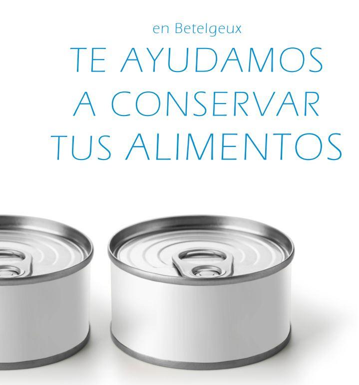 Nuevo Catálogo  para la Industria Conservera