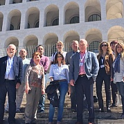 Tercera reunión en Roma del proyecto E+ K2 Cleaning and disinfection procedures in Food and beverage industries